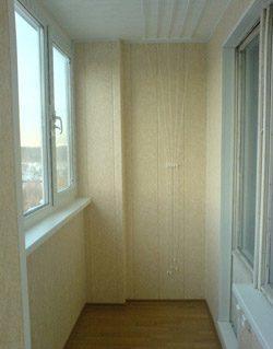 ремонт лоджий в Новосибирске