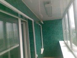 козырьки на балкон в Новосибирске